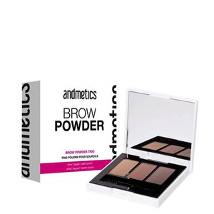 Andmetics BROW Powder Trio