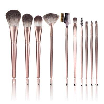 Xanitalia Nylon Brush Set Make-up Margot (10 Brushes)