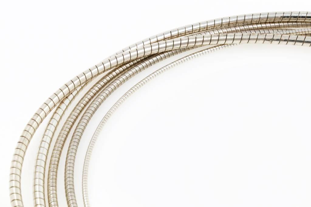 Omegareif aus 925er Silber, 3,5 mm