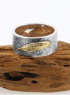 Ring Feder Bicolor