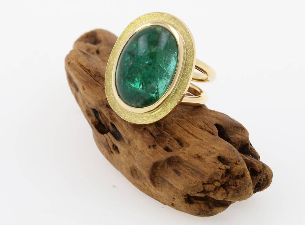 19 ct Smaragd 750 Gold