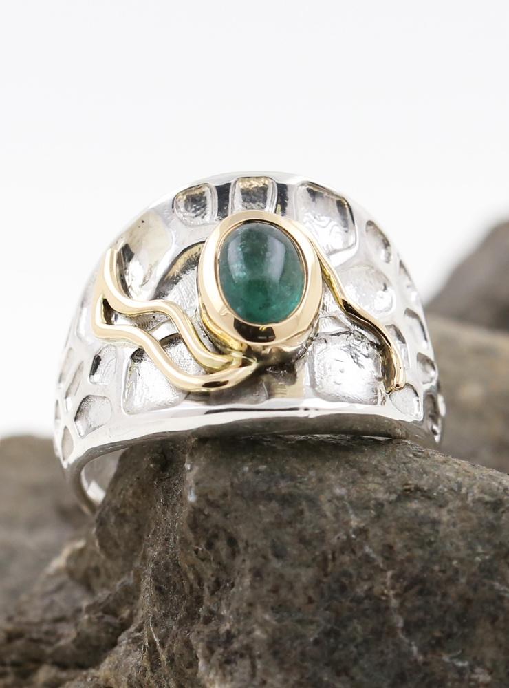 Ring Sheherazade Bicolor Smaragd