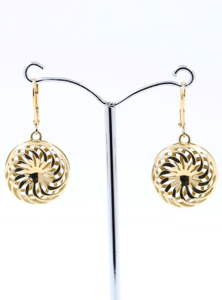 Rügen-Ohrringe aus 750er Gelbgold