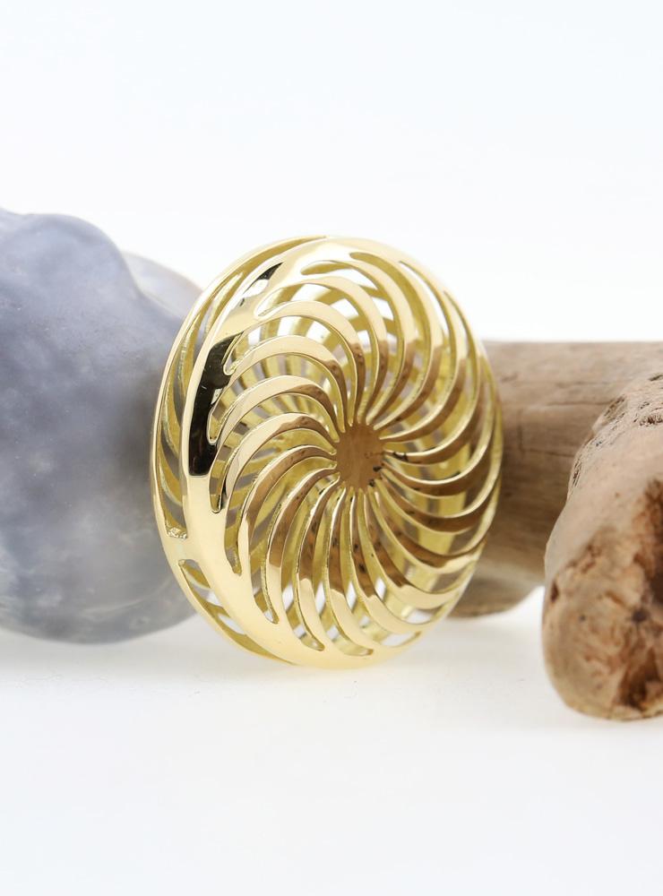 Rügen-Anhänger Gold