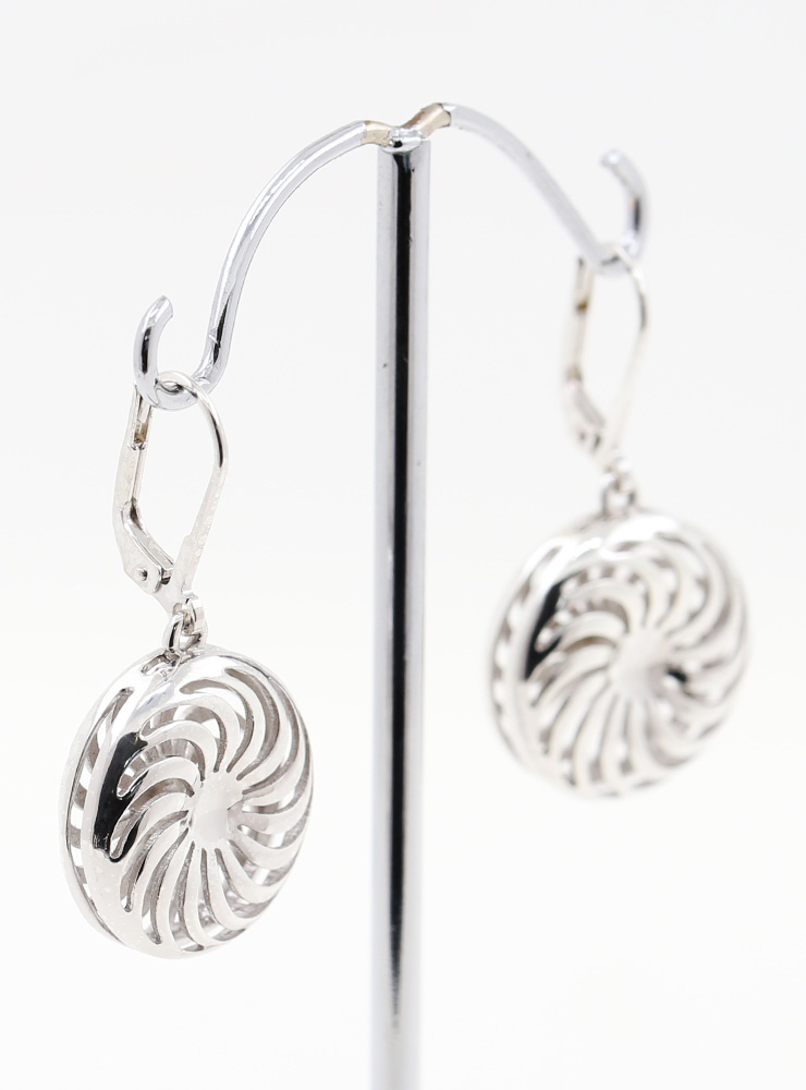 Rügen Ohrringe aus 925er Silber rhodiniert