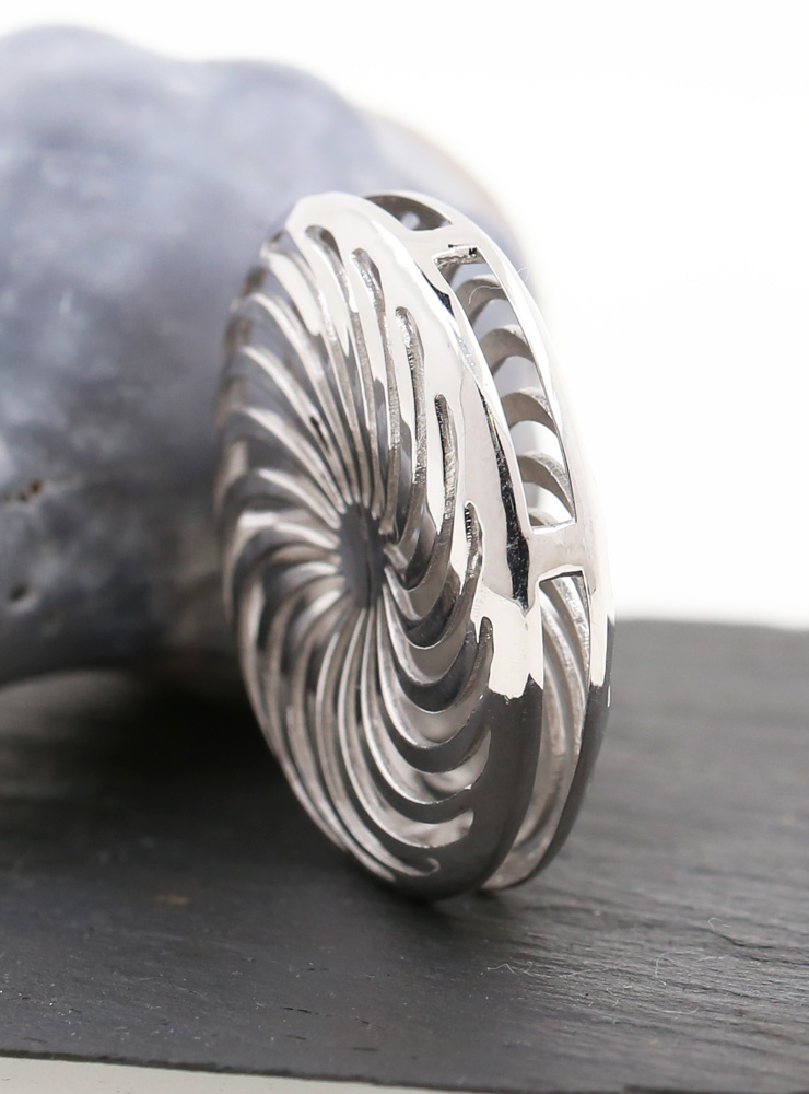 Rügen-Anhänger aus 925er Silber, rhodiniert