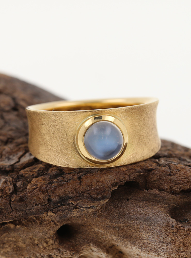 Ring Luna Gold Mondstein