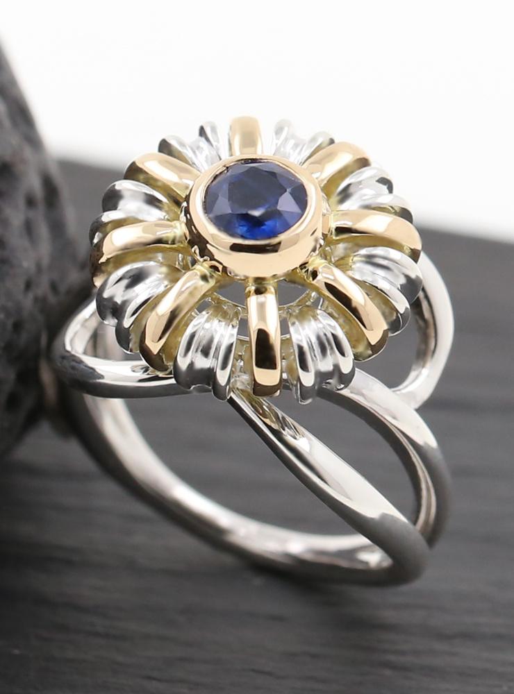 Ring Sultan Bicolor Kyanit