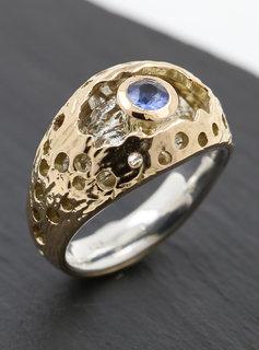 Ring Diva Bicolor Saphir
