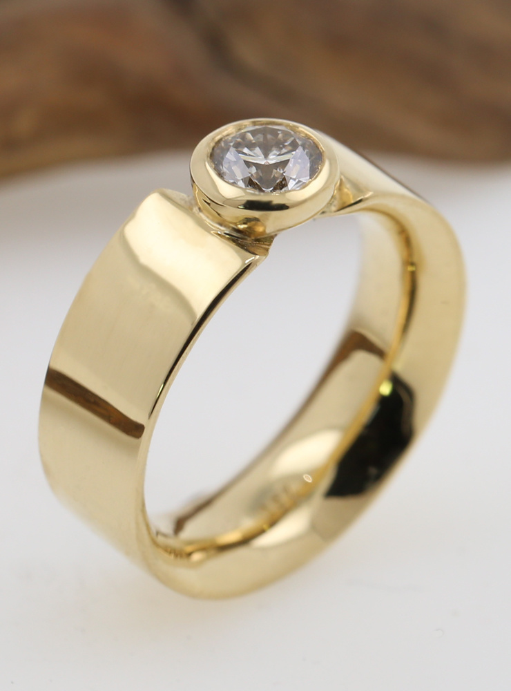 Ring Marilyn Gold Diamant