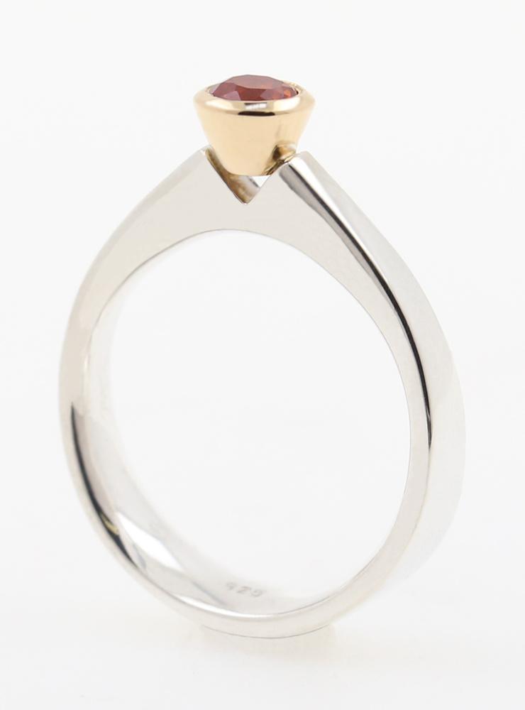 Ring Judith Bicolor Saphir