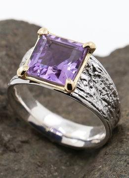 Ring Medici Bicolor Amethyst