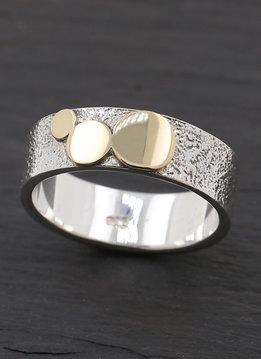 Bicolor Ring 3 Kreise