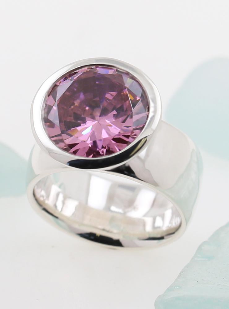 Ring Prunkstück Pink