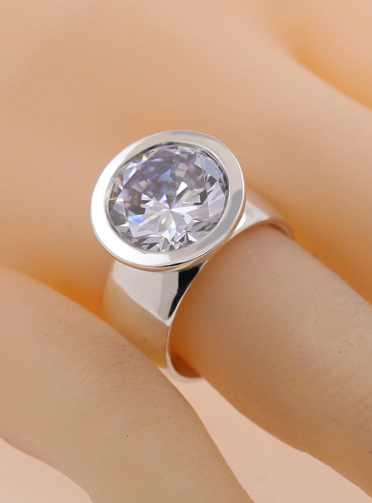 Ring Prunkstück Diamantweiß