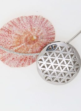 Anhänger Blume des Lebens 1 Silber