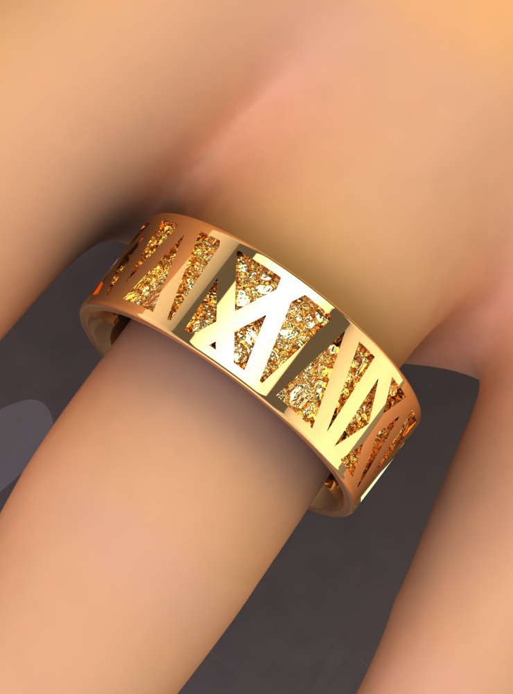 Ehering Mikado Gold