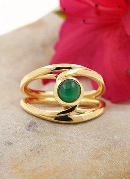 Ring Sarabande Gold Smaragd