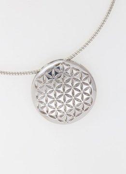 Anhänger Blume des Lebens 2 Silber