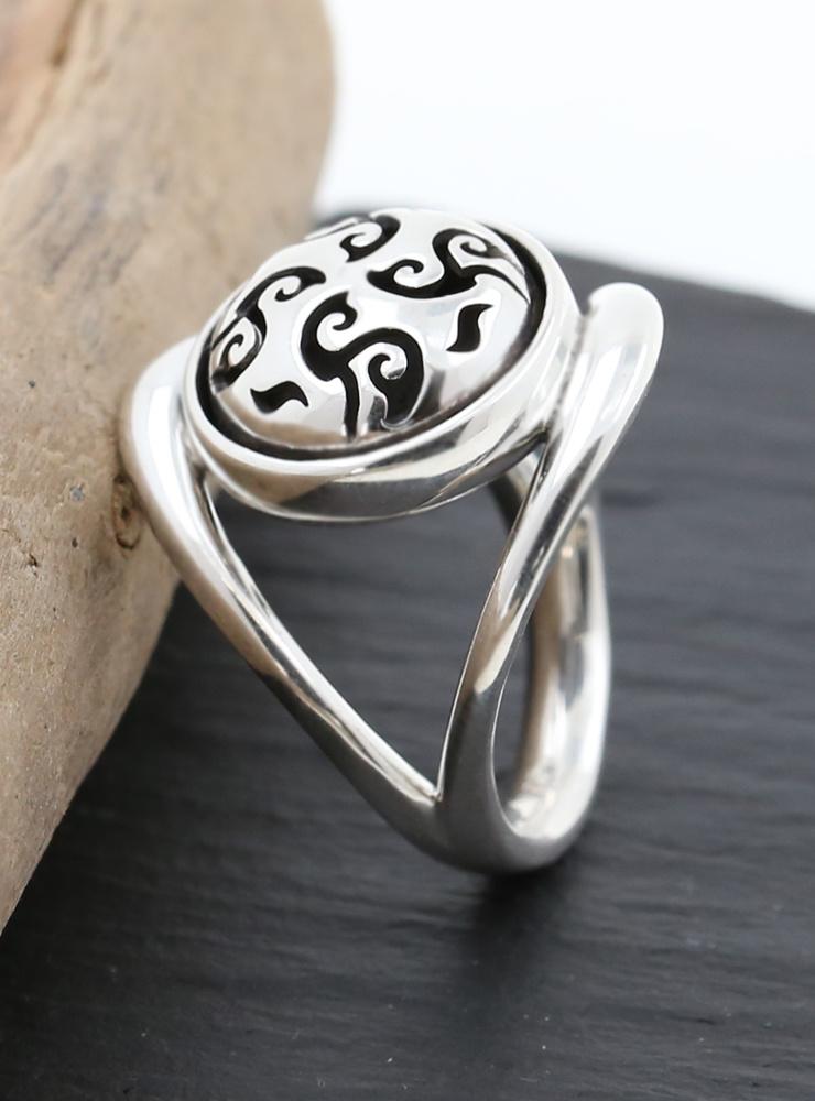 Casablanca: Ring aus 925er Silber