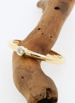 "Ring ""Ringlein 1"" Gold Diamant"