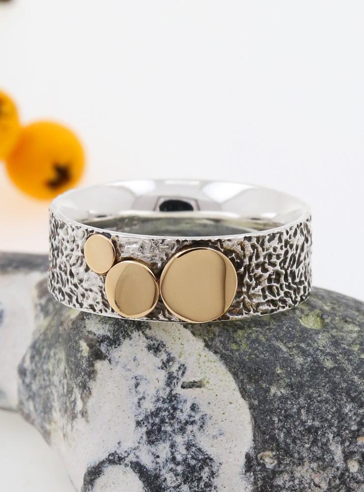 "Ring ""3 Kreise"" Bicolor"