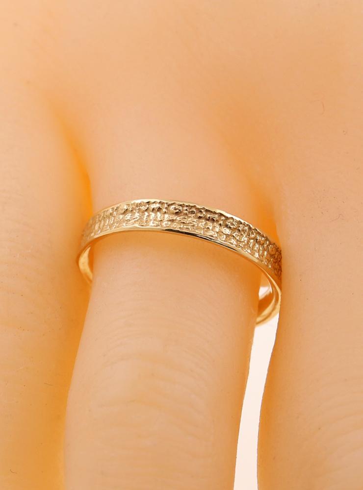 Jorinde und Joringel: Schmaler Ehering aus 750er Gelbgold