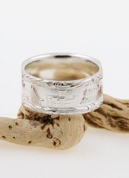 Rügen Ring breit Silber