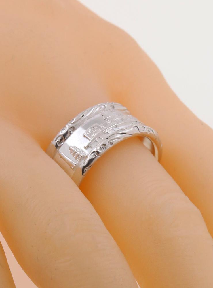 Rügen Ring breit  aus 925er Silber