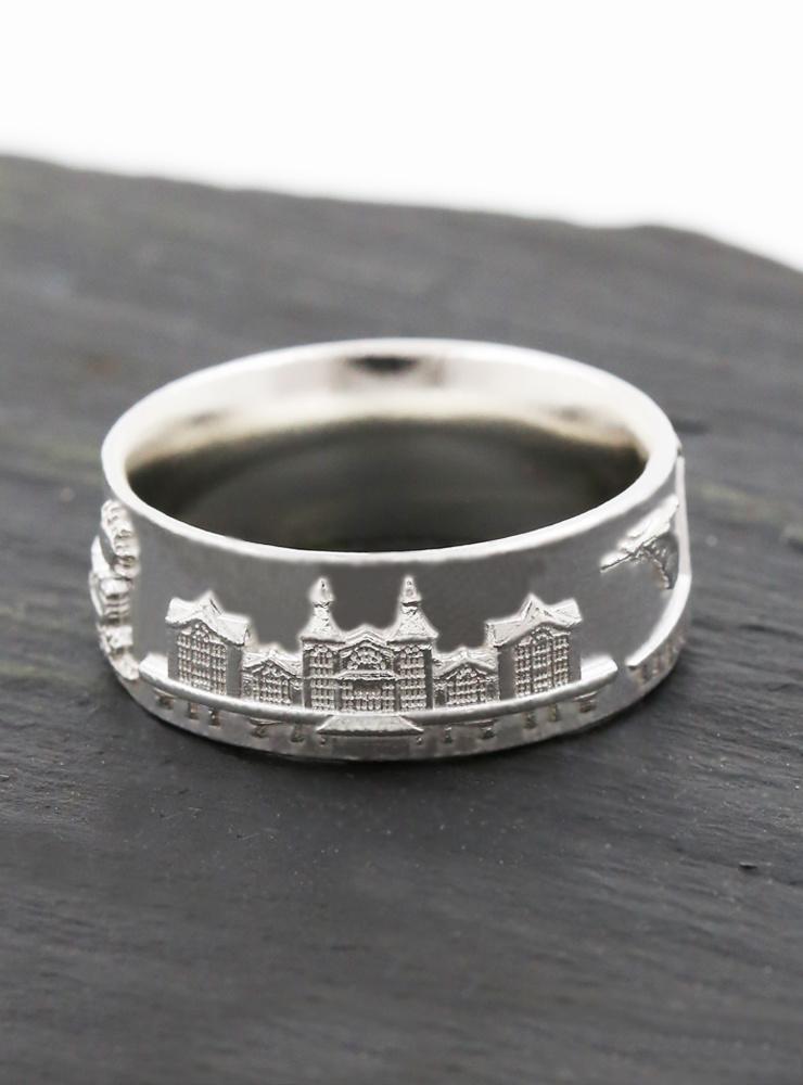 Rügen Ring schmal Silber