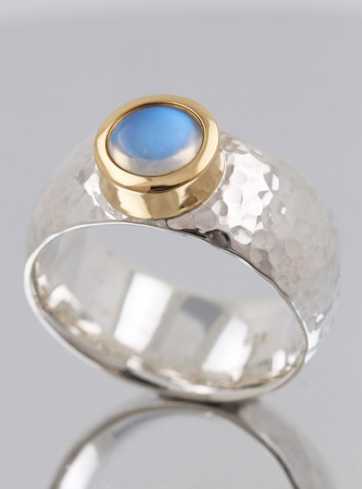 Ring King Arthur Bicolor Mondstein