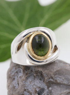 "Ring ""Seid umschlungen"" Bicolor Turmalin"