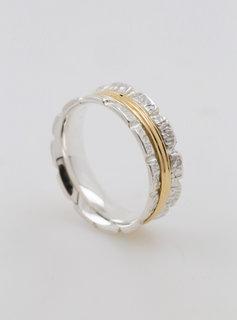 "Ring ""Bond"" bicolor"