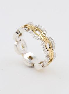"Ring ""Forever Love"" Bicolor"