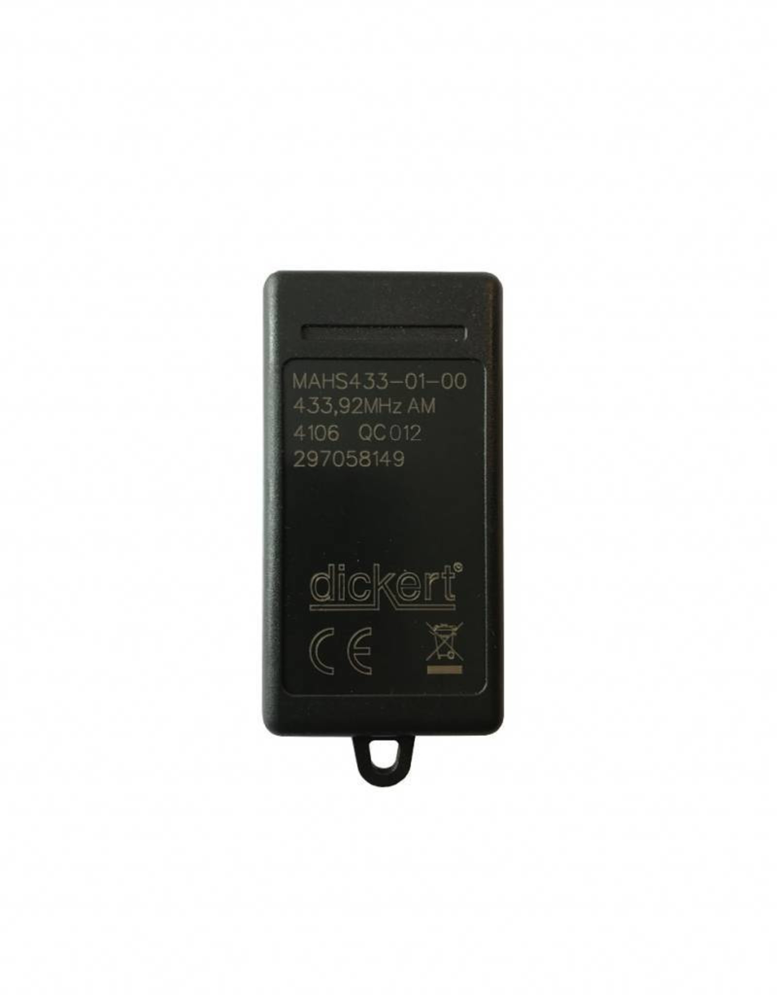 Becker Becker MAHS433 mini handzender 433 MHz 1-kanaals