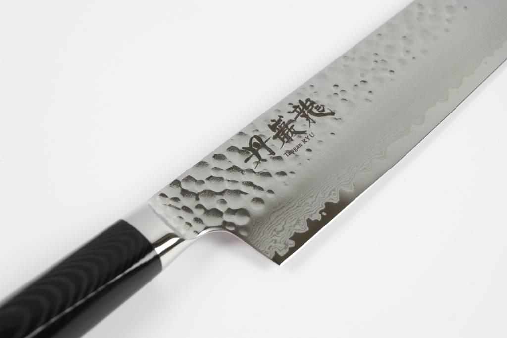RYUSEN TANGANRYU Micarta Black Gyuto 180 mm TG-503