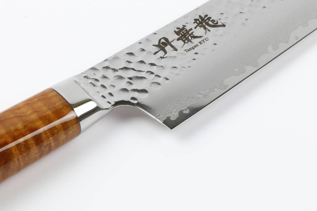 RYUSEN TANGANRYU Maple Gyuto 240 mm TG-601