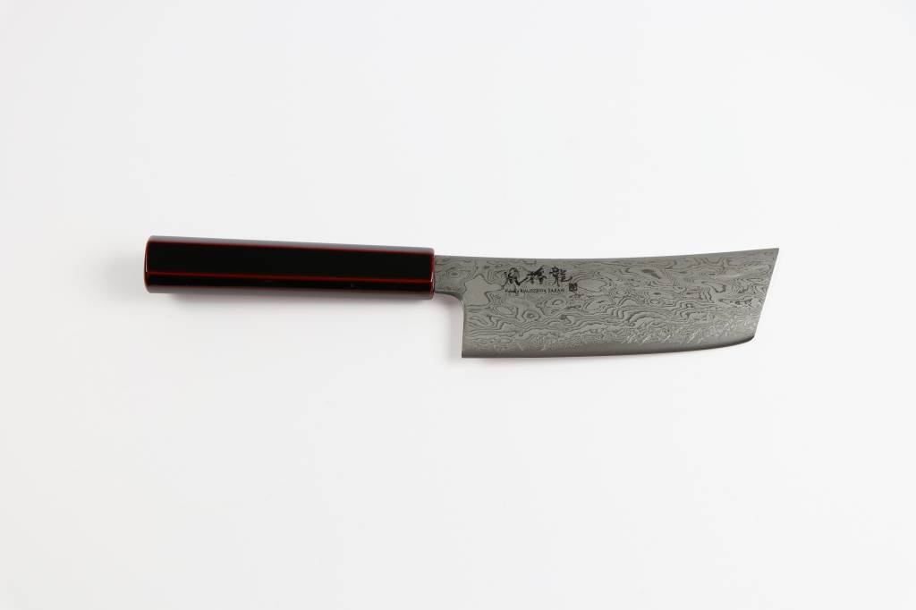 RYUSEN FUKAKURYU Urushi Ko-Nakiri 150 mm FK-206