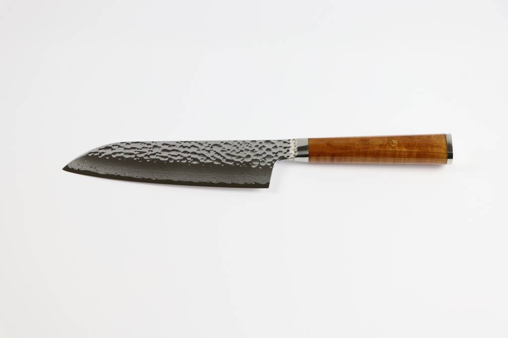 RYUSEN TANGANRYU Maple Santoku 170 mm TG-604