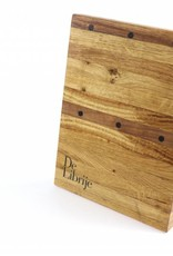 Ryusen RYUSEN De Librije magnet knife holder in oak for 3 items  ( no knives )