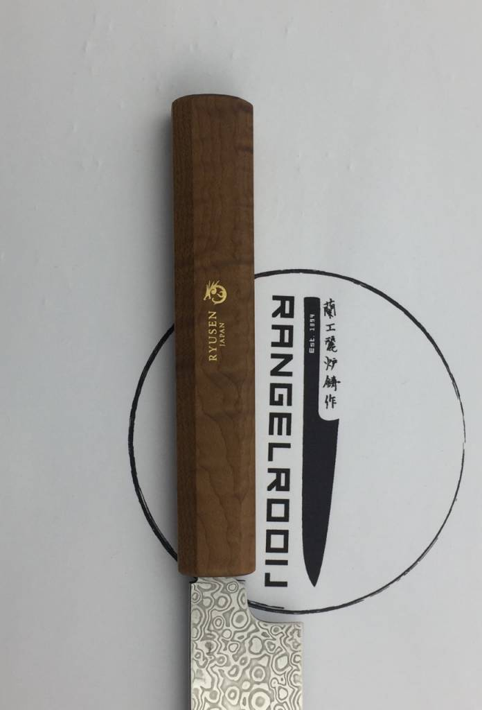 Ryusen Ryusen Hoenryu Yanagiba coreless 210 mm esdoorn