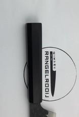 TAKAYUKI 3 Layers Hammered Kengata 160 mm AS+ stainless ebbehout 01191