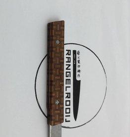 Ryusen Steak Knife Yosegi sk 04 wooden floor