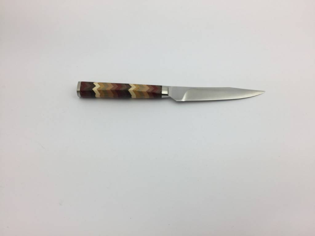 RYUSEN Steak Knife Yosegi coloured handle
