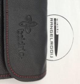 Boldric Leather One Buckle 8 Black LB 123