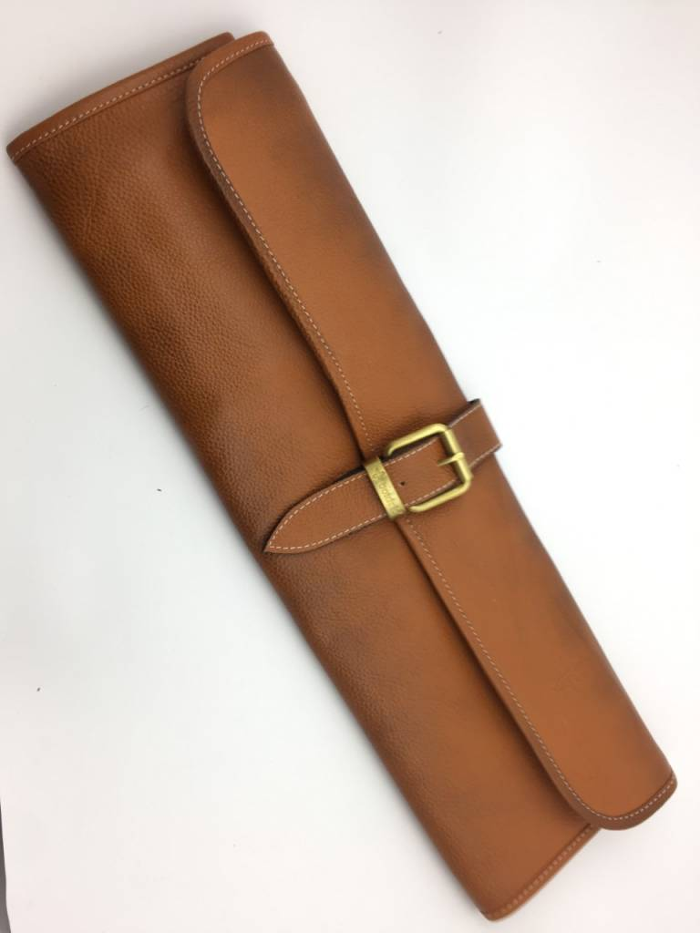 Leather One Buckle 8 Tan LB 121