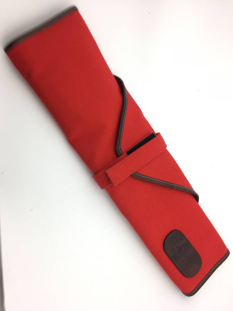 Canvas Tie 6 Red CW 137