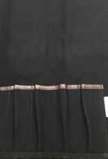 Boldric Canvas Tie 7 Black CT 104
