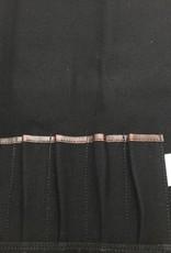 Canvas Tie 7 Black CT 104