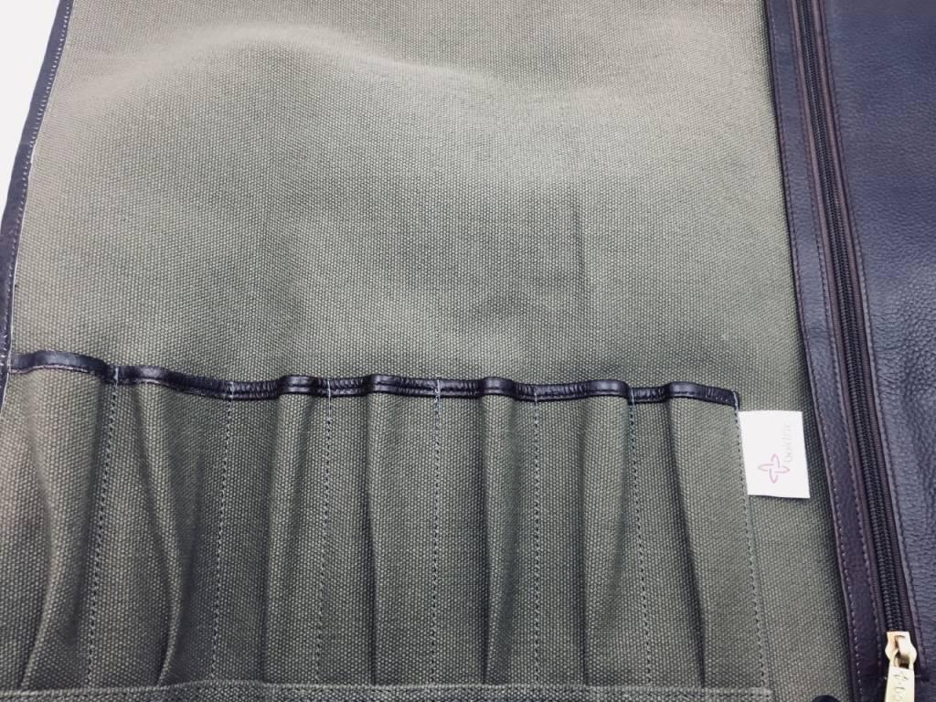 Canvas Tie 7 Green CT 101